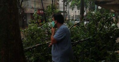 ZÁRATE- El Municipio recorre los barrios para relevar posibles daños ocasionados por el temporal