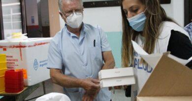 Vacunas de AstraZéneca ya se aplican en la Ciudad