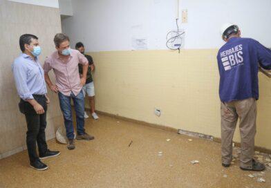 Comenzó la remodelación del sector de internación del Hospital