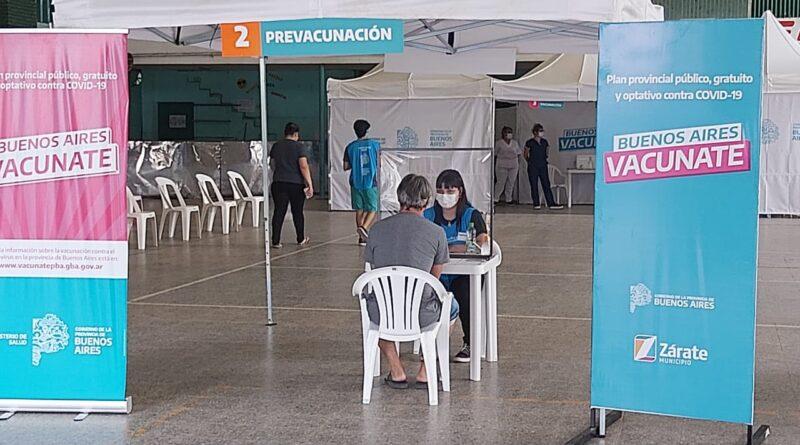 Se inició la vacunacion en el Club Pellegrini (AUDIOS)