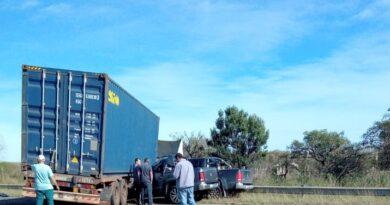 Fatal accidente en la Ruta 12. Dos fallecidos