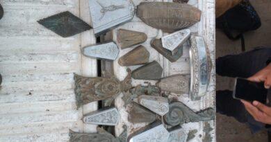 El Municipio pudo recuperar elementos sustraídos en el cementerio